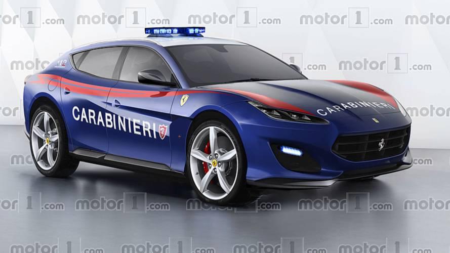 Bientôt le SUV Ferrari pour la police italienne ?