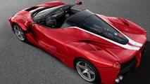 Ferrari LaFerrari Aperta –217mph