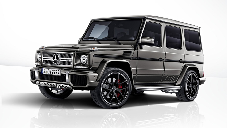 Mercedes-AMG G63 ve G65 Exclusive Edition Frankfurt yolcusu