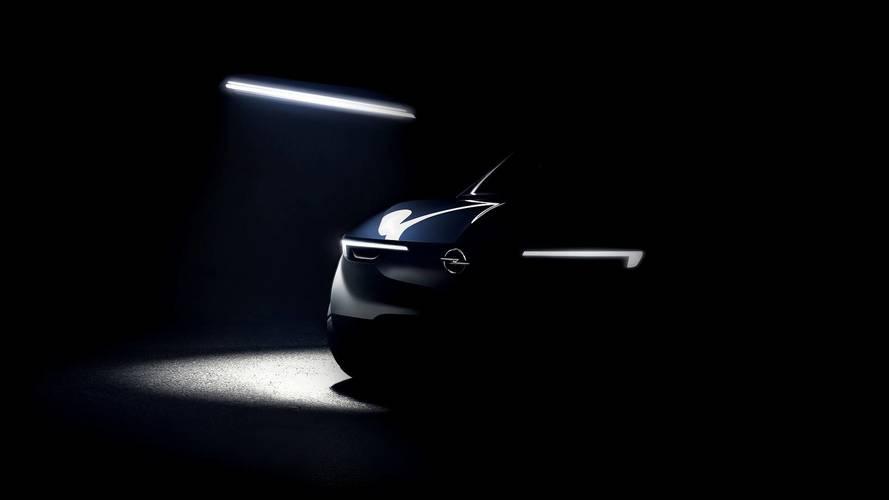 Opel D-segment SUV teaser image