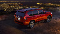 2018 Toyota Land Cruiser Prado resmi fotoğraflar