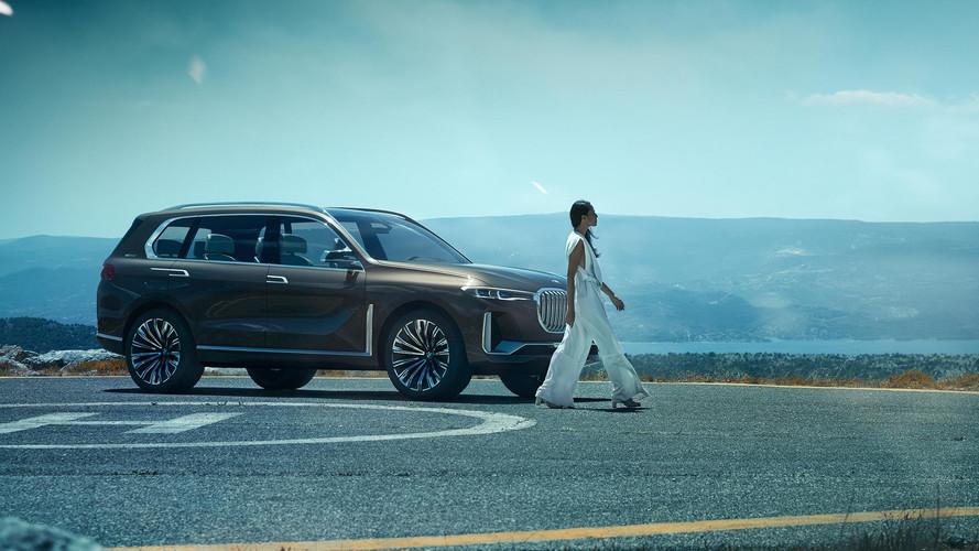 Hivatalosan is bemutatkozott a BMW Concept X7 iPerformance