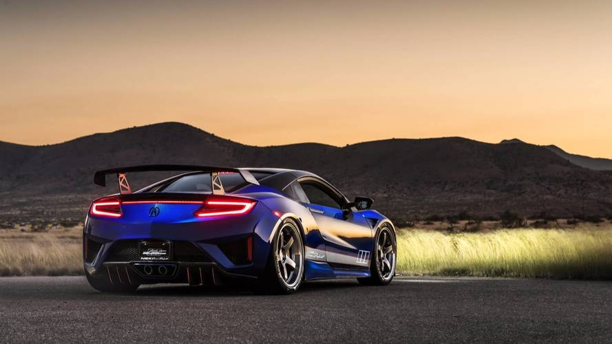 Acura NSX Dream Project - Une version plus méchante au SEMA show