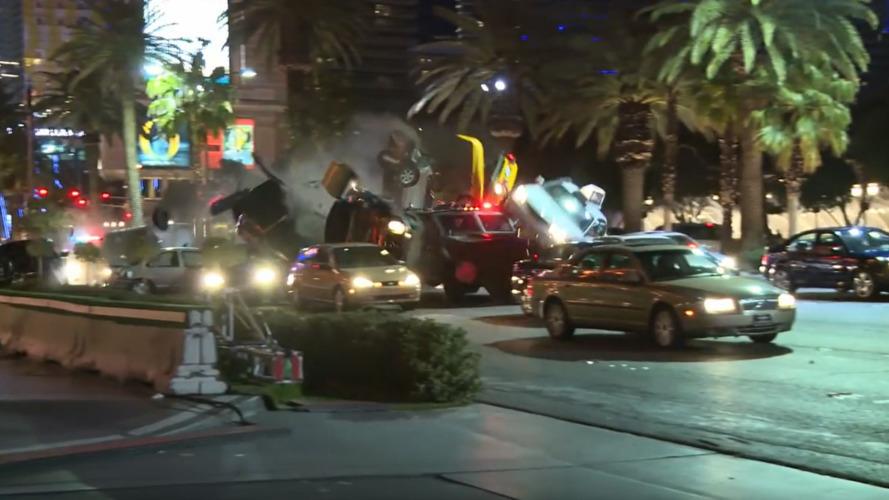Jason Bourne 5 :  La vidéo des cascades hallucinantes à Vegas