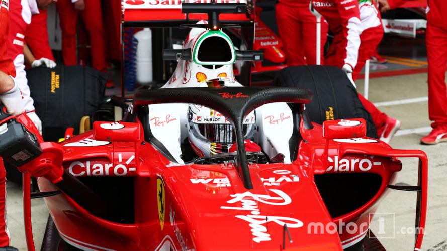 Ferrari debuts Halo 2 in practice at Silverstone