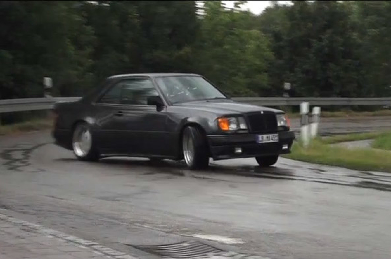 Getting Very Sideways in the Menacing Mercedes-Benz AMG Hammer