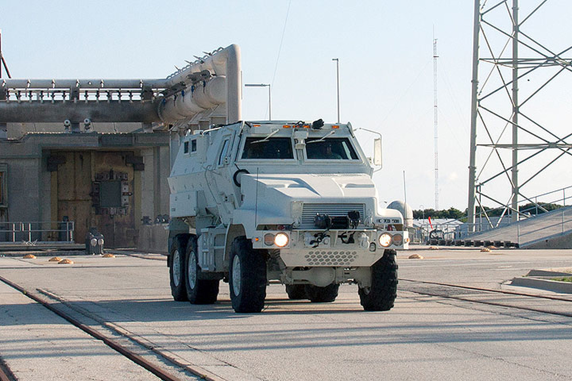 NASA Just Added an Armored Military Vehicle to Its Fleet