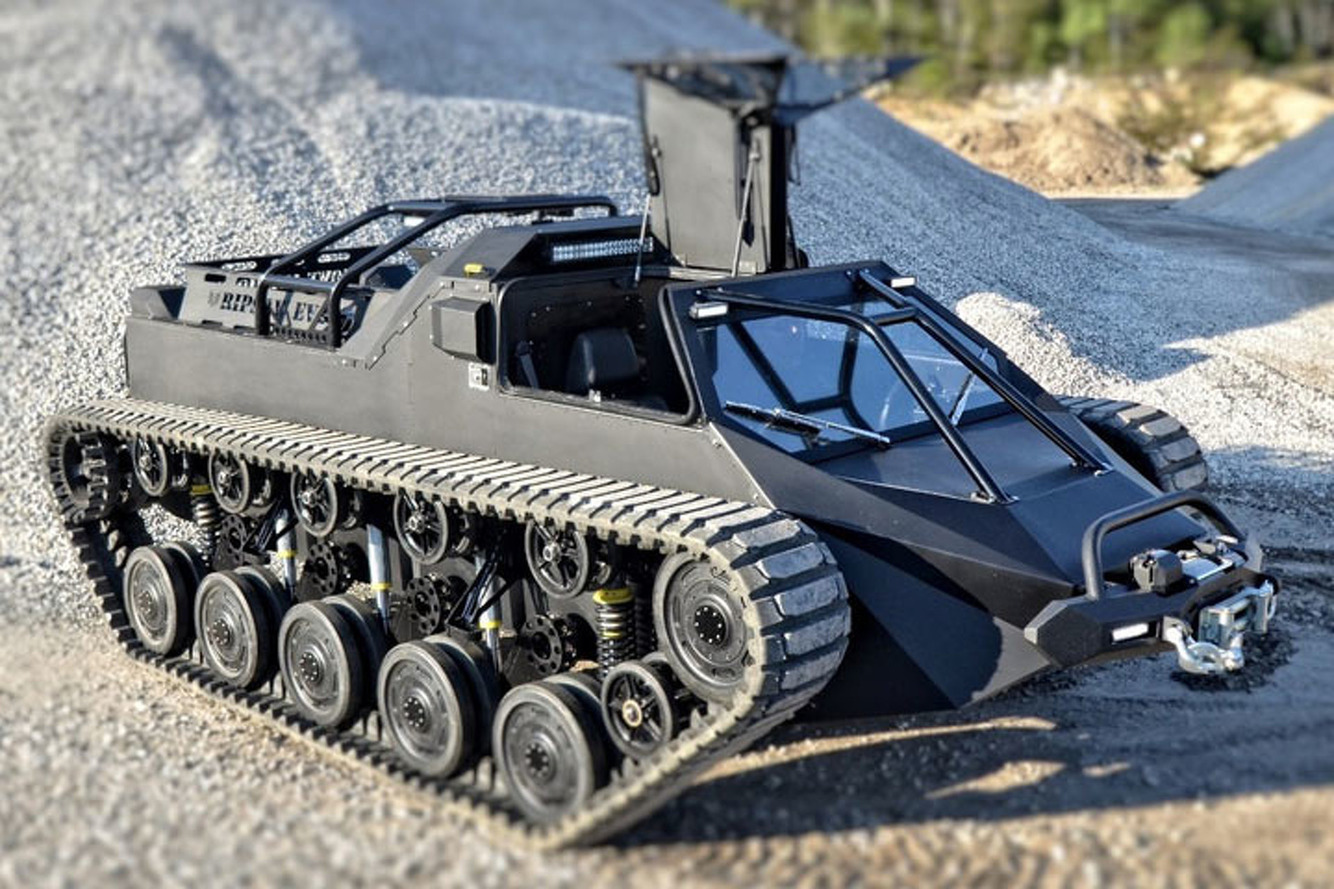 The Ripsaw EV2 is the Luxury Tank of Your Dreams/Nightmares