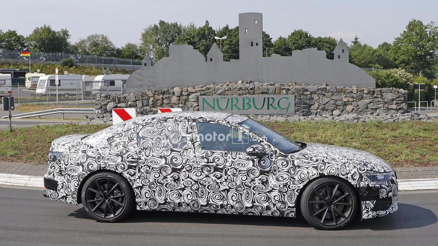 Audi S6 2018, fotos espía
