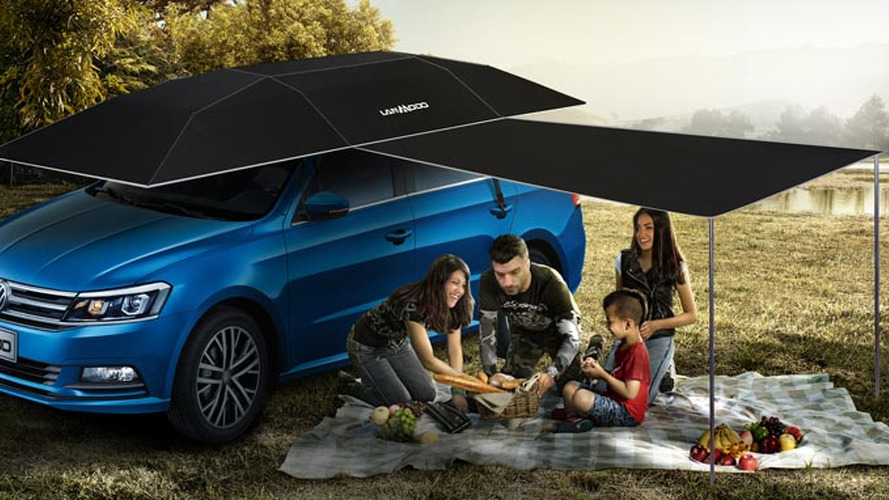 Automatic Car Umbrella: The Gadget You Never Knew You Needed
