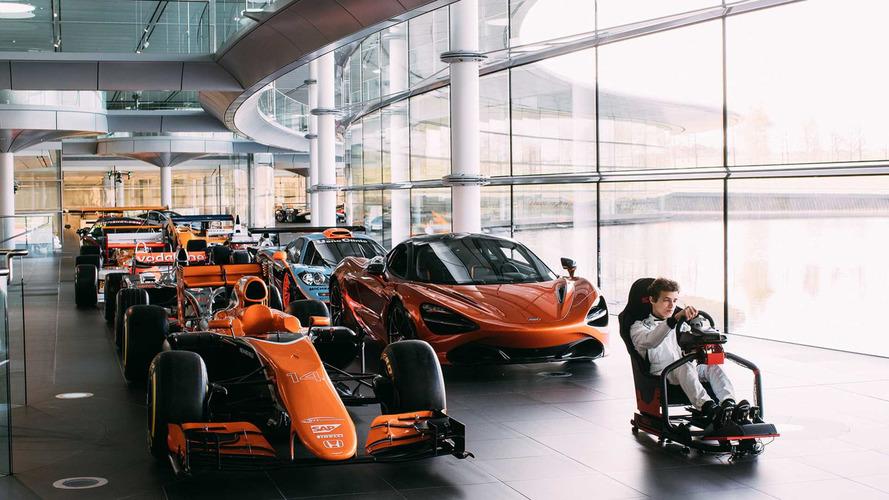 McLaren Launches eSports Contest For F1 Simulator Job