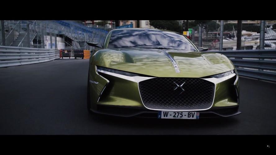 VIDÉO - LA DS E-Tense en excursion à Monaco