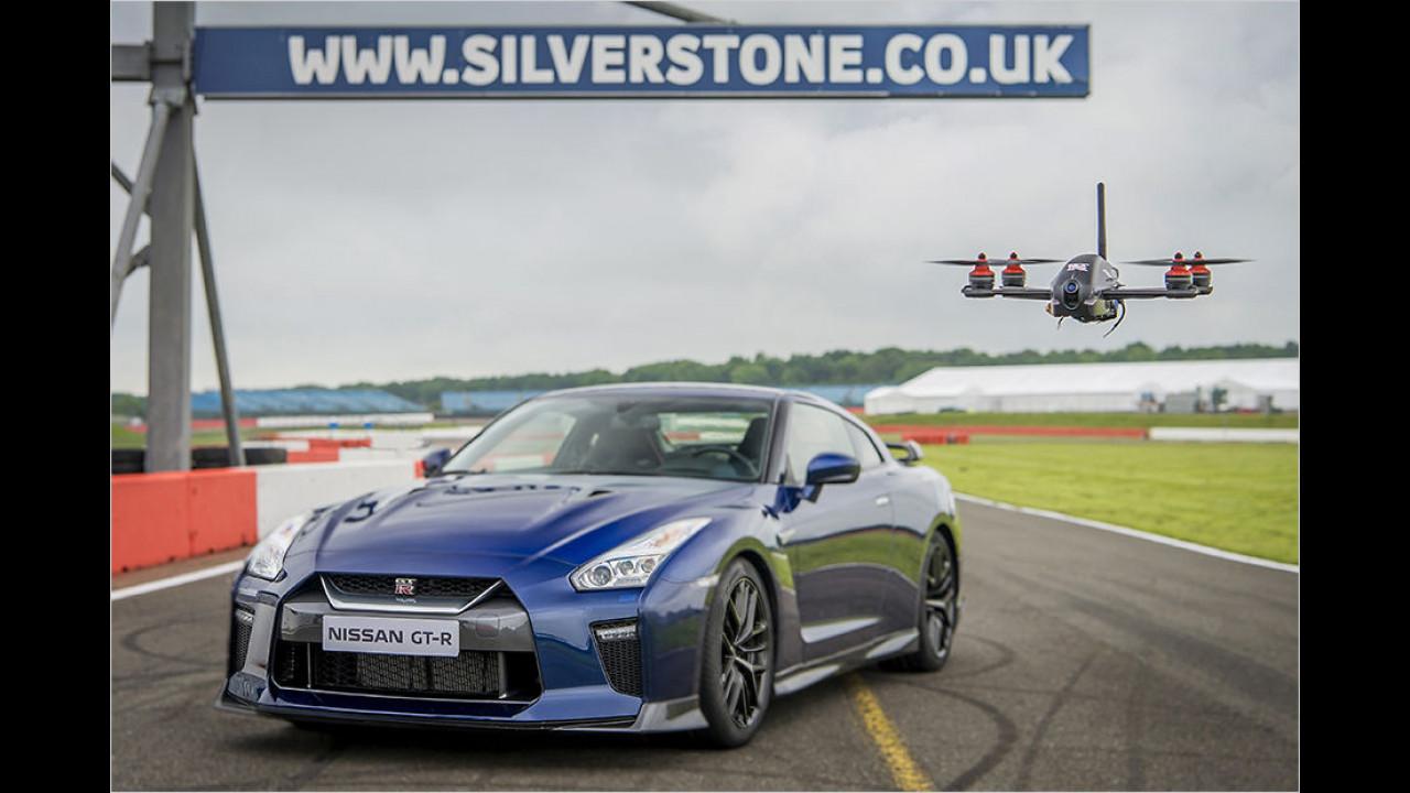 Nissan entwickelt die GT-R-Drohne