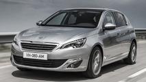 2014 Peugeot 308 (UK)
