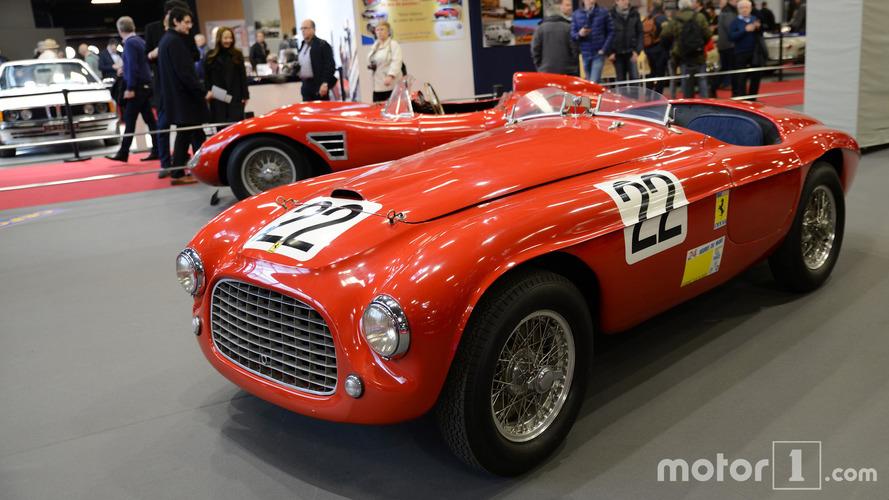 VIDÉO - 70 ans d'histoire de Ferrari à Rétromobile