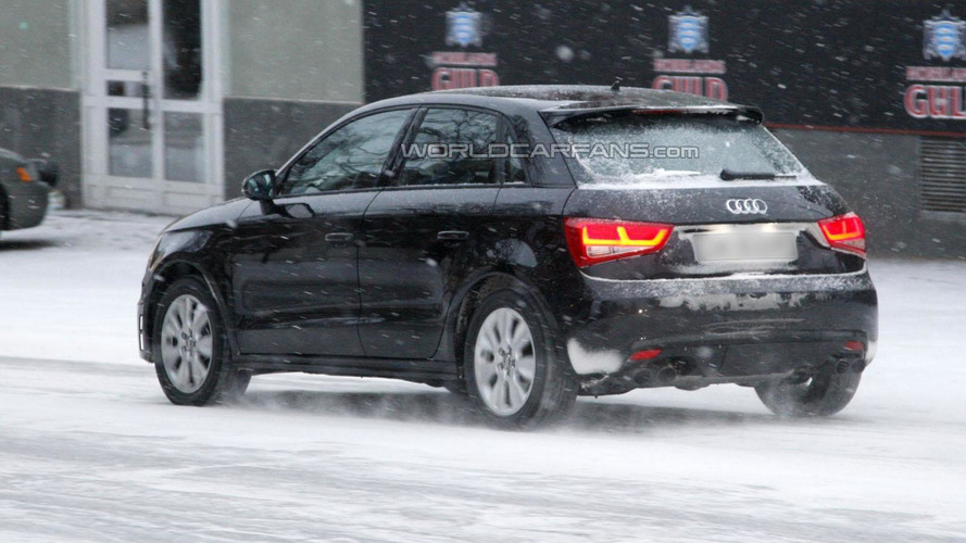 2014 Audi S1 Sportback spied for the first time