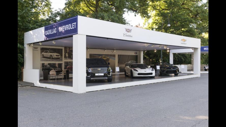Cadillac a Parco Valentino 2017
