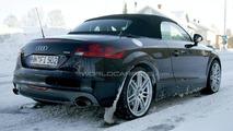 Audi TT RS caught on the run again