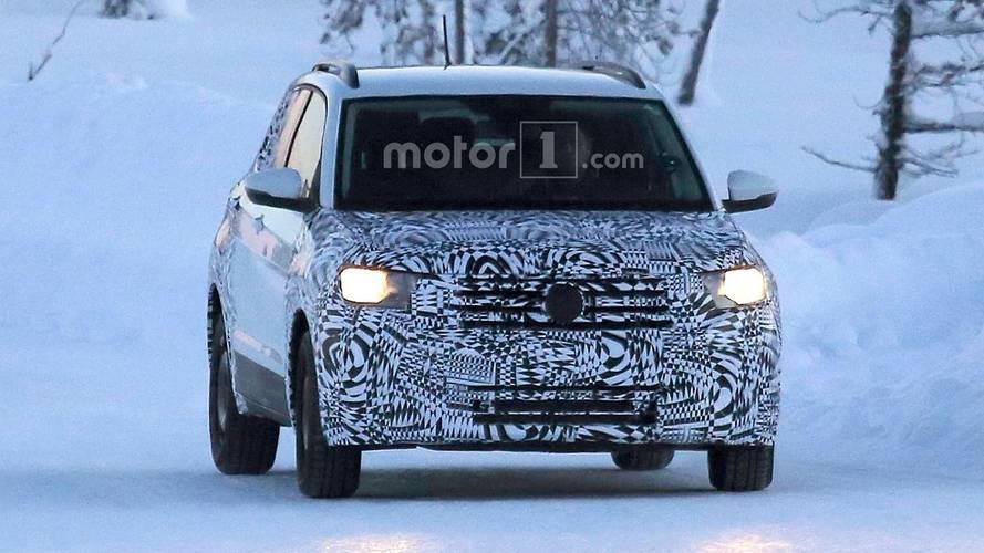 2018 Volkswagen T-Cross Spy Photos