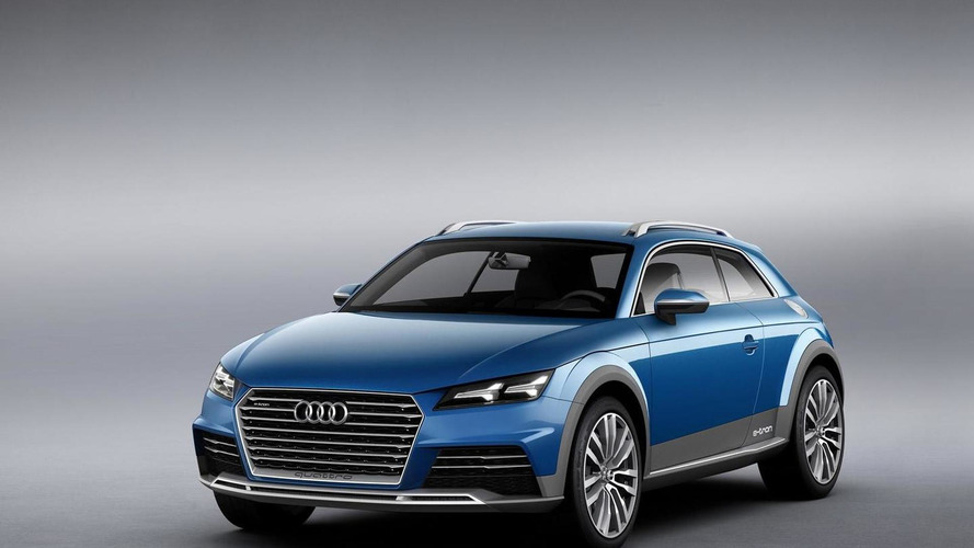 Audi allroad shooting brake concept wows the Motor City