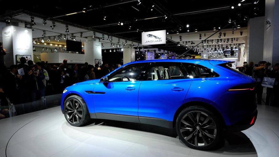 Jaguar C-X17 concept shown in the metal [video]