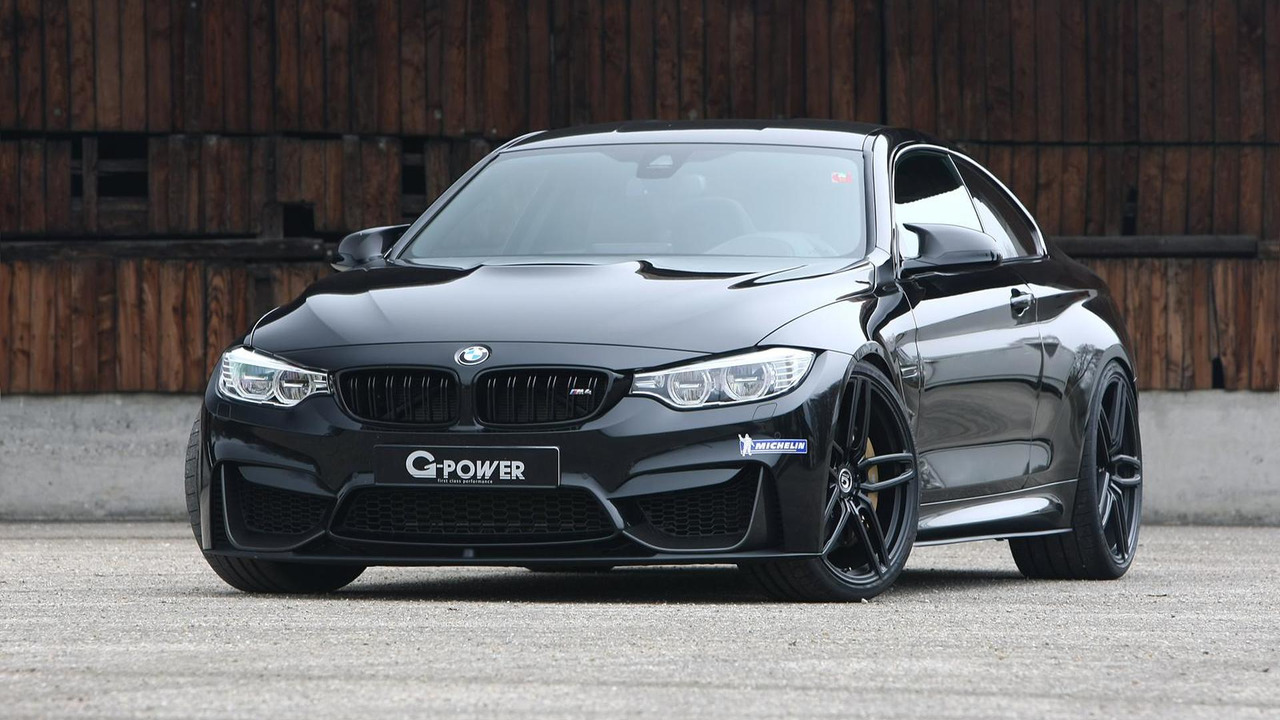 BMW M Coupe Tuned To HP By GPower - Bmw 2014 m4