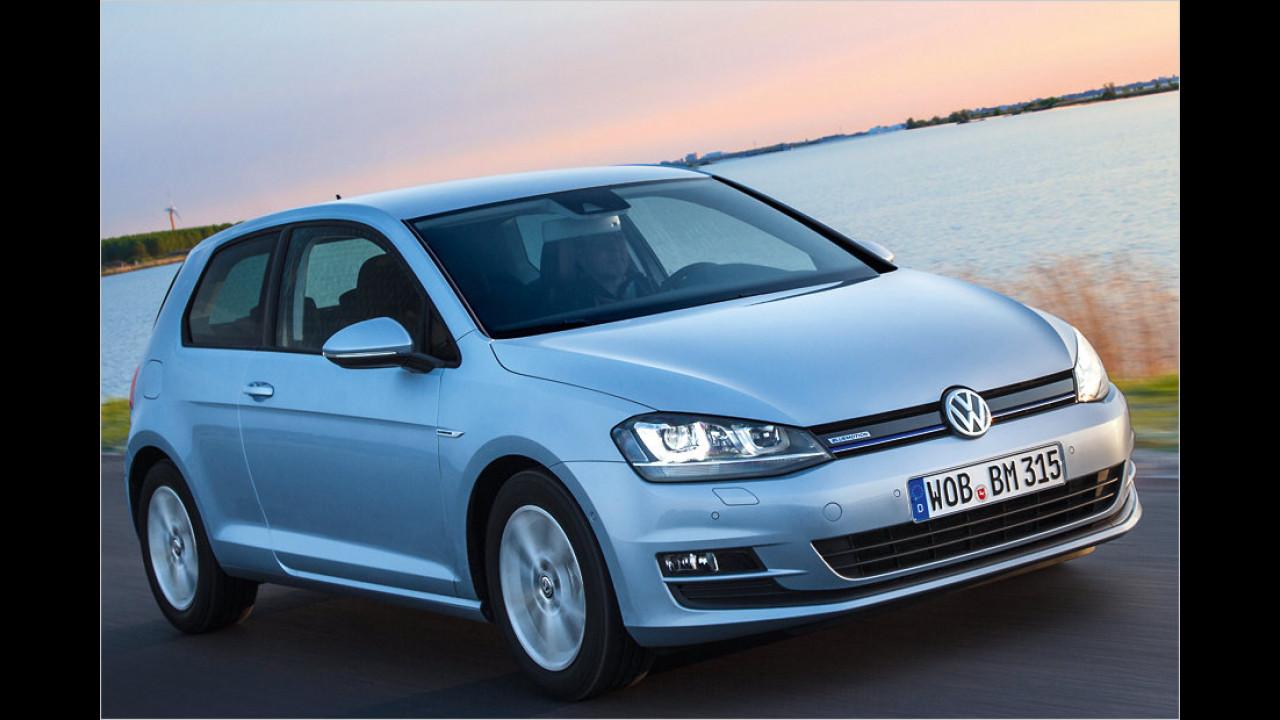 Geteilter Platz 6: VW Golf BlueMotion