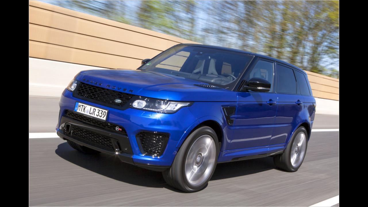 Land Rover Range Rover Sport SVR: 4,7 Sekunden