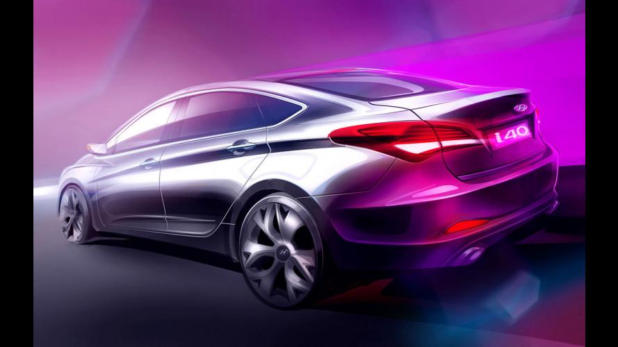 Hyundai i40 berlina: debutto a Barcellona