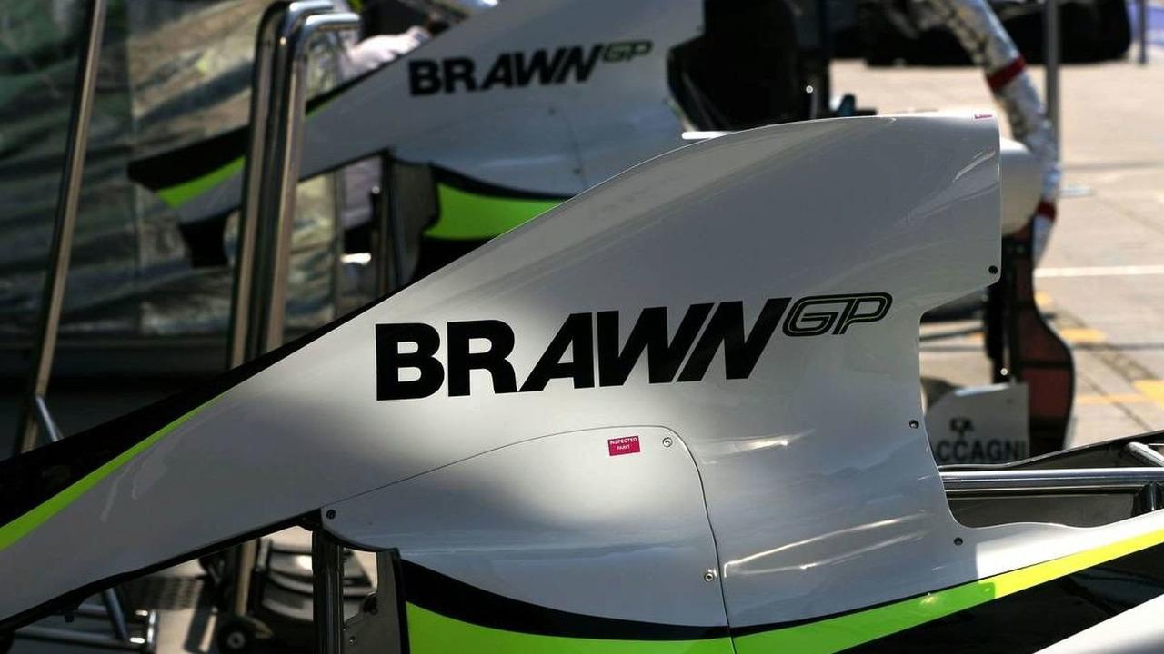 Brawn GP engine cover - Formula 1 World Championship, Rd 13, Italian Grand Prix, Thursday, Monza, Italy, 10.09.2009