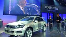 2011 VW Touareg live in Geneva 05.03.2010