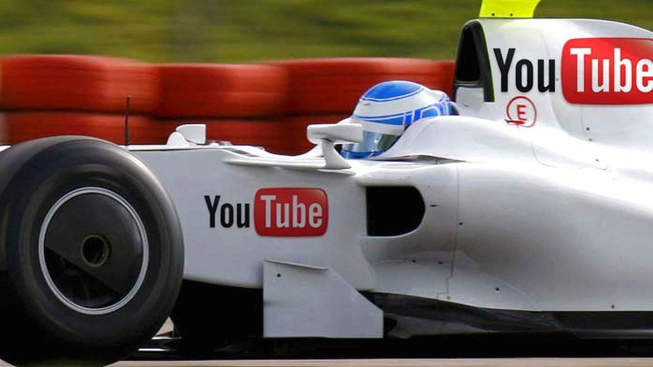 YouTube F1 CGI