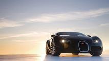 Bugatti Veyron - black