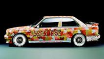 Michael Jagamara Nelson (AUS) 1989 BMW M3 Group A Race Version art car