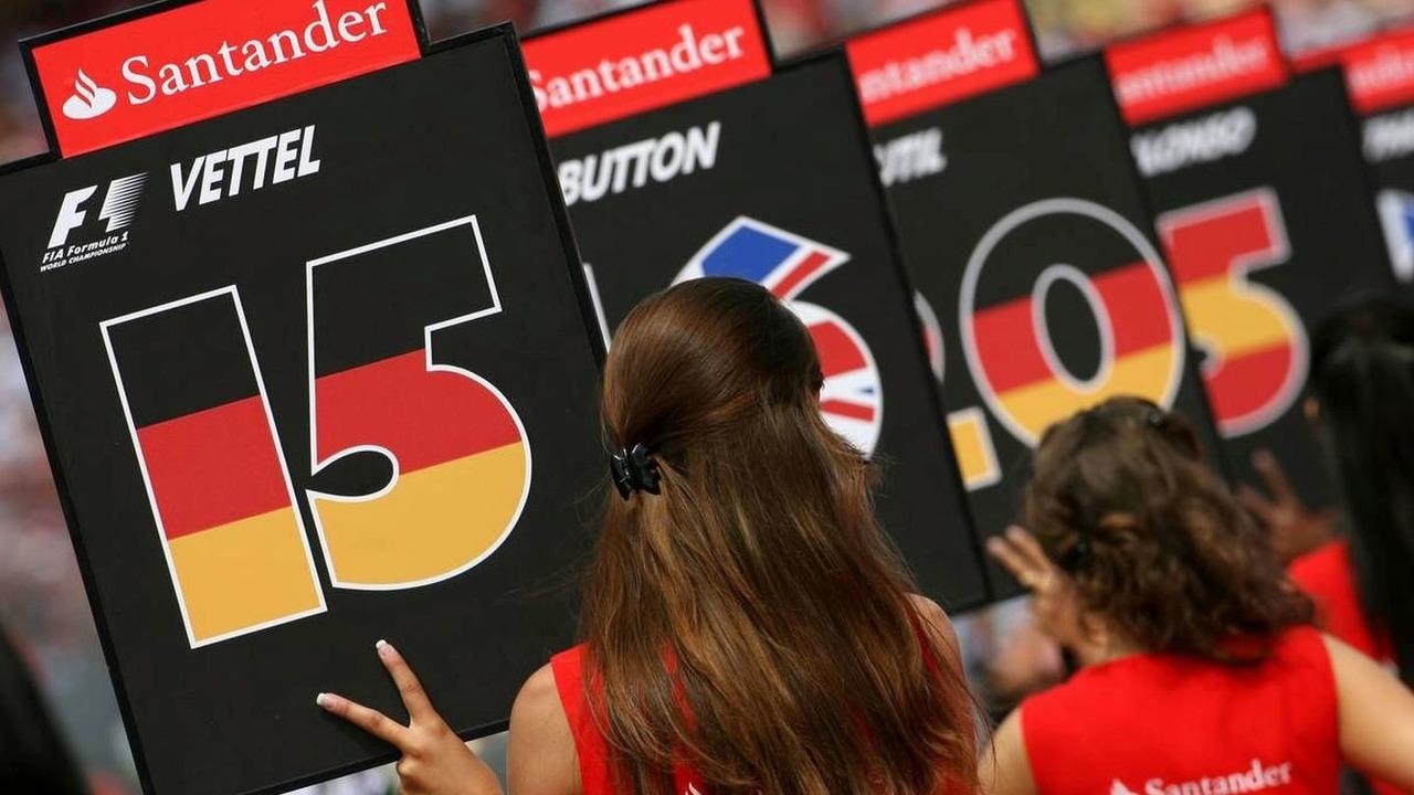 Sunday Grid girl, German Grand Prix, Hockenheim, Germany, 20.07.2008