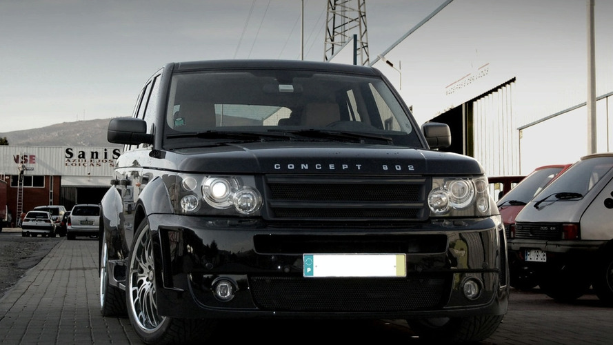 Concept802 Range Rover Sport Platinum S Wide Body Kit New Images