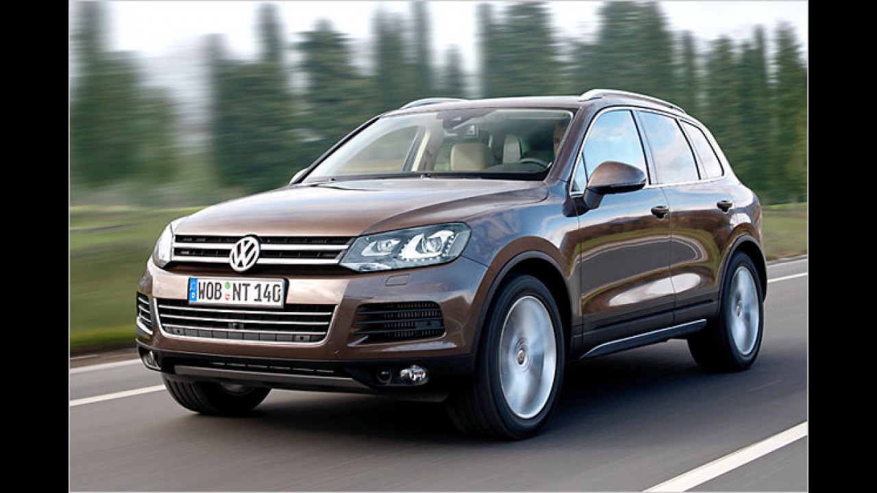 VW Touareg V6 TDI BlueMotion Technology Tiptronic