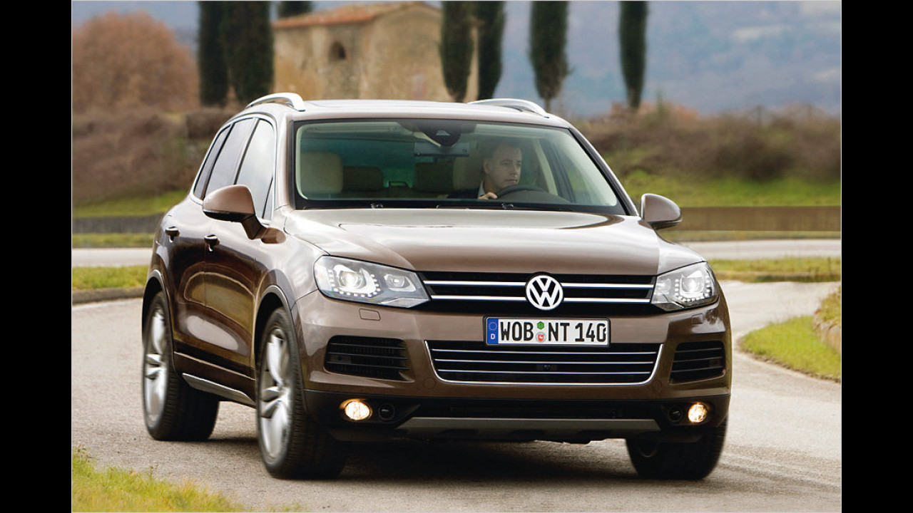 VW Touareg V6 TDI BlueMotion Technology