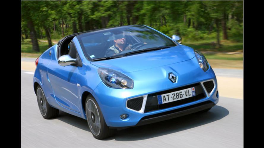 Pfiffiger Wind von Renault: Viel Spaß im Coupé-Roadster