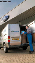 First Drive for HyTrans - The Diesel/Electric Ford Transit