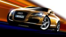 Audi TT Artist Rendering