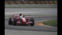 Felipe Massa in pista a Fiorano