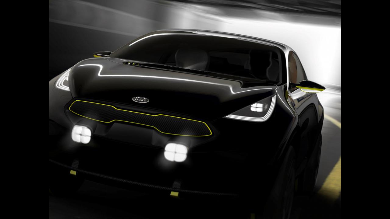 Kia KED-10 concept, i teaser