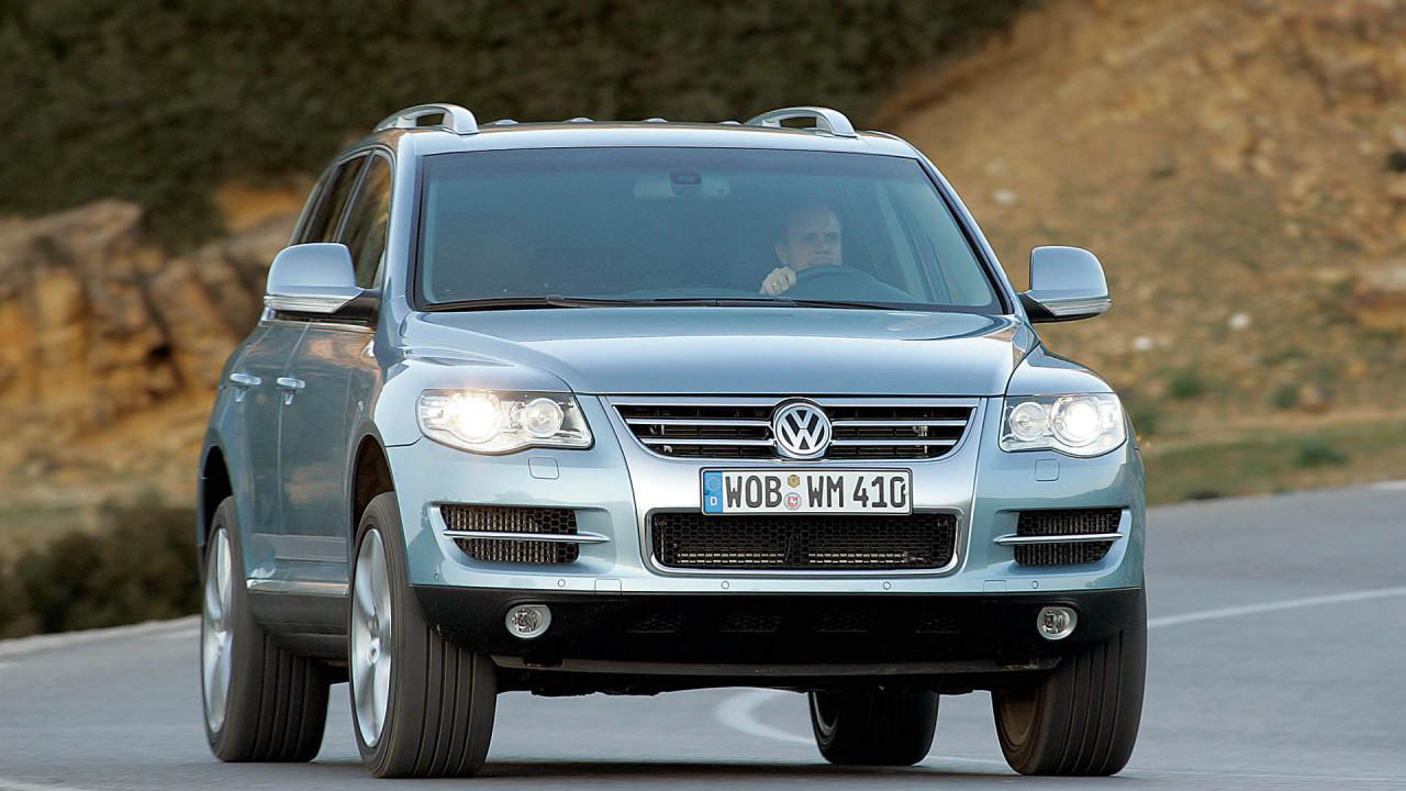 Neuer VW Touareg: Die erste Generation