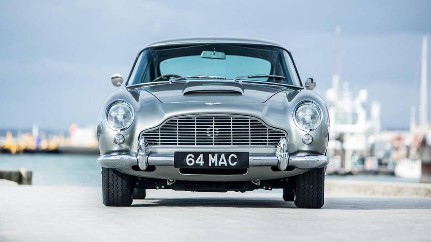 Paul McCartney Aston Martin DB5 sold at auction