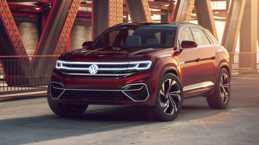 Volkswagen Atlas Cross Sport Concept Previews New Five-Seat SUV