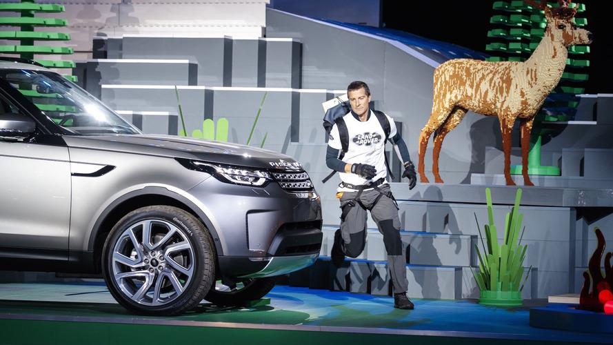Land Rover Discovery LEGO Lansmanı