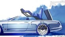Bentley Mulsanne Convertible concept (sketch)