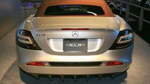 Mercedes-Benz SLR Roadster at Los Angeles Motor Show