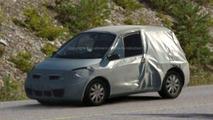 New Renault Twingo Scenic spy photos